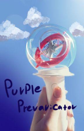 Purple Prevaricator (Chan x OC) Stray Kids Au by straykidshoebro