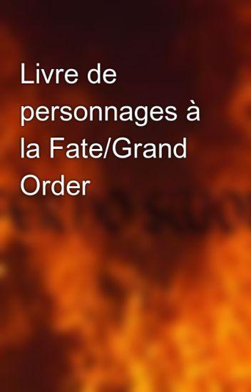 Livre de personnages à la Fate/Grand Order