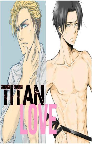 Titan Love (Levi x Reader x Erwin)