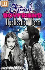 Official Boyfriend Application Form by Eccedentesiast24