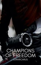 Champions of Freedom | Levi Ackerman x OC by SweeterDevils