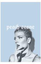 peach scone (poetry) by -cartomantic