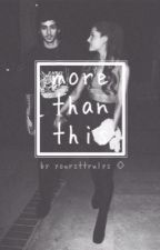 more than this // zayn malik & ariana grande ☯ by yoursttrulys