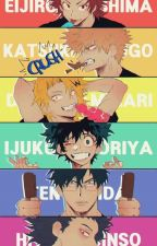 Class 1-A Group Chat  by _Insane_Bookworm_