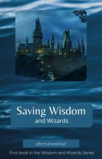 Saving Wisdom (and wizards) (PJO x HP Crossover) by alternativekitkat