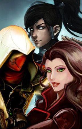 Korra & Asami X Male Assassin Reader  by Ninneko7