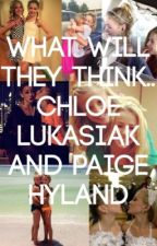 Chloe Lukasiak and Paige Hyland. What will they think... by timtamz18