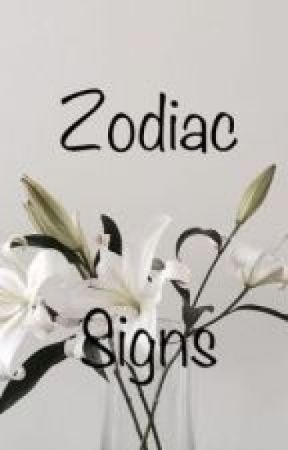 Zodiac Sign Book by girl25964