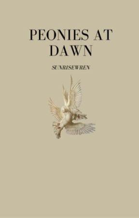 Peonies at Dawn by sunrisewren
