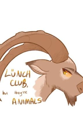 Lunch Club, but they're animals by JudgementalMelon