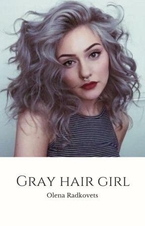 Gray hair girl by OlenaRadkovets