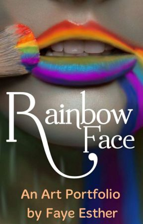 Rainbow Face by Fayesther