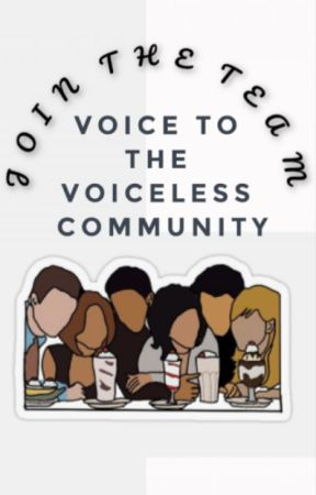 Voice to the voiceless : Join The Community by Vttvcommunitee