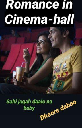 Romance In Cinema Hall by Desi_Lekhak