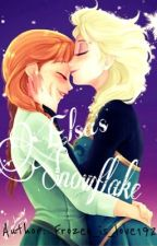 Elsanna: Elsa's Snowflake by frozen_is_love192