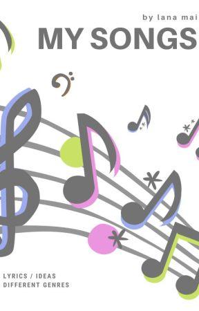 My Songs Long Lo Fi Jam P1 Wattpad
