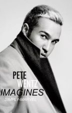 Pete Wentz Imagines by embellish-eloquence
