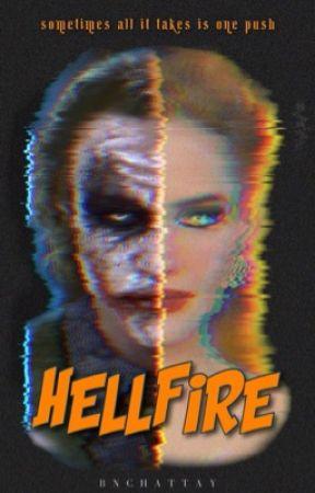hell fire • joker + bruce wayne  by BNChattaway
