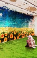 Hello Sunflower... Russia and Amelia ^^' by stichedpanda