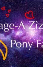 Backstage-A Zizzy X Pony fanfic (from Roblox Piggy) by midoriShepCHAN2