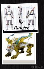 The Ice Ranger (Power Rangers Ninja Storm- Hunter x OC) by camposa9