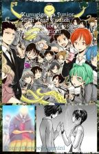 Kunugigaoka Junior High Year 3 watches Assassination classroom manga version  by donnytheweebygemini
