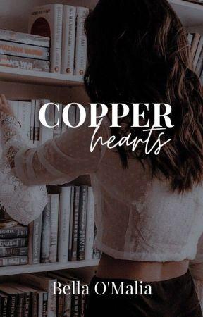 Copper Hearts by bellaomalia