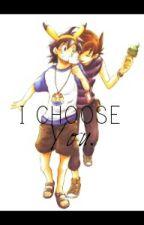 I Choose You || Gary x Ash by chikideeanya