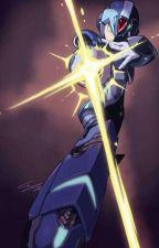 dc super-hero girls: The Blue Light Of Metropolis by Awakened_Z3R0