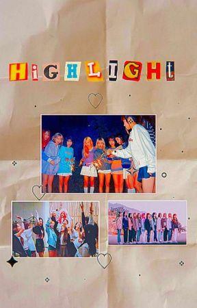 highlight // izone au by kweenkwon