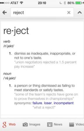 Rejects - REJECTS - Wattpad