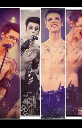 (Black veil brides) Andy Biersack dirty imagine by rebel_love_song_