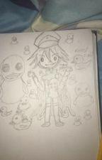 Kokichi drawing(s?) by kokichis_ahegao