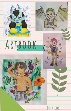 Artbook d'un p'tit chat by Eloanecat14