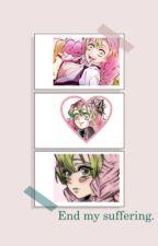 End my suffering.( Zack foster x Reader) by Zucc_My_Zookine