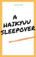 Haikyuu sleepover by Hoperiver27