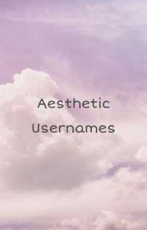 Aesthetic Usernames by softmilk1