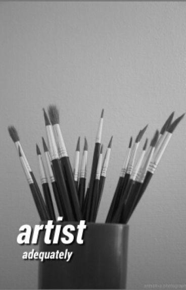 artist (harry styles au)