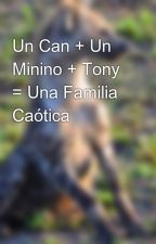 Un Can + Un Minino + Tony = Una Familia Caótica  by shadow69666