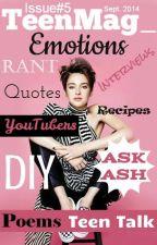 TeenMag_ Issue#5 Emotions by TeenMag_