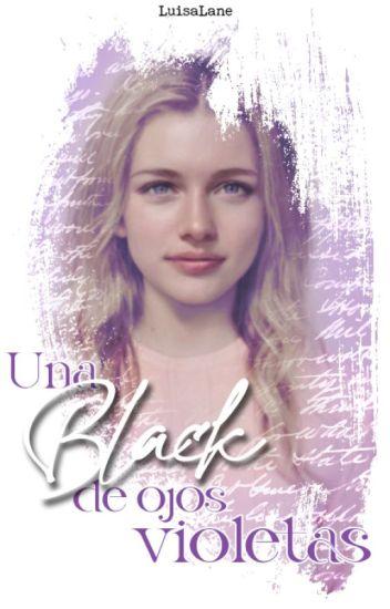 Una Black de ojos violetas