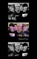 The Boyz Reactions  by tbznewberry