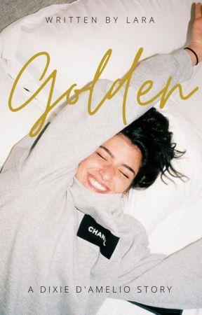 Golden ⚜️ Dixie D'Amelio by sarahcamercn