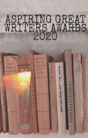 Aspiring Great Writers Awards 2020 by theaspiringwriterxx