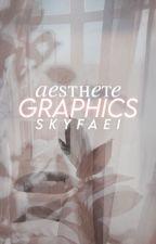 aesthete ⟶ GRAPHIC PORTFOLIO.  by skyfaei
