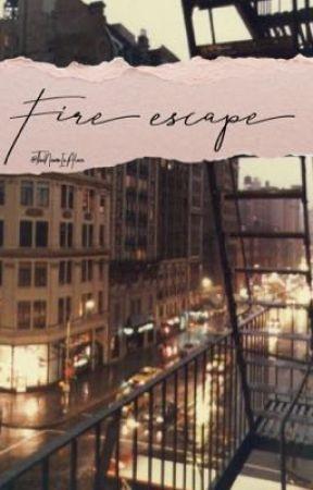 Fire escape | Luke Ross by TheNameIsAlice