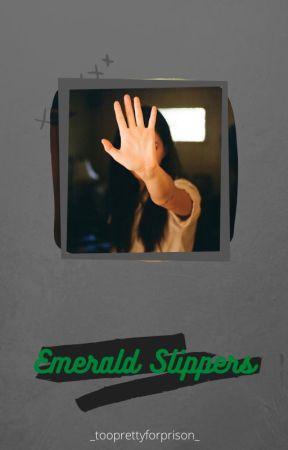 Emerald Slippers- [Ginny Weasley] by _tooprettyforprison_