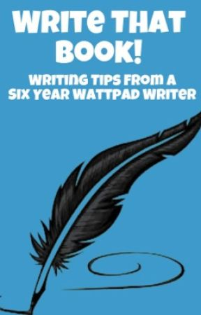 Write That Book! [Writing Tips] by Franta_21