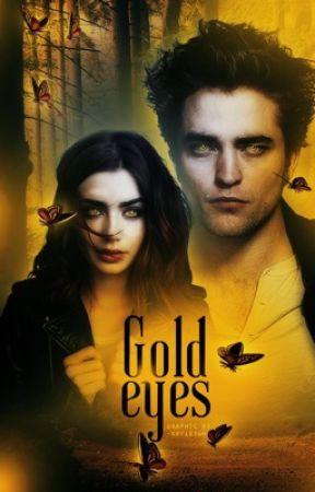 Gold eyes, Edward Cullen  by -MissHolland