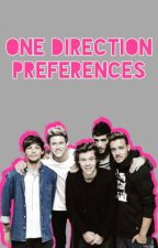 One Direction Preferences by directionersrdabomb